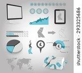 vector illustration of modern...   Shutterstock .eps vector #293325686