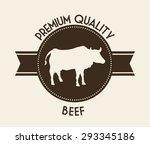 farm fresh digital design ... | Shutterstock .eps vector #293345186