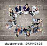 global communications... | Shutterstock . vector #293442626