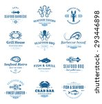 seafood barbecue design... | Shutterstock .eps vector #293446898