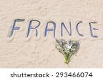 france   word  | Shutterstock . vector #293466074