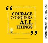 inspirational motivational... | Shutterstock .eps vector #293489723