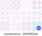 watercolor multicolor hand...   Shutterstock .eps vector #293490236