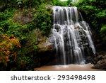 Rappelling Wang Tum Waterfall ...