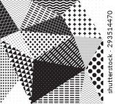 geometric pattern   Shutterstock .eps vector #293514470