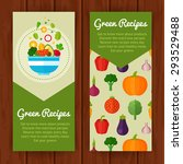 advertisement set of concept... | Shutterstock .eps vector #293529488