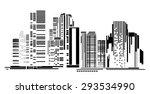 vector design   eps10 building... | Shutterstock .eps vector #293534990