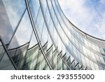 modern glass office building. | Shutterstock . vector #293555000