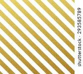 gold glittering seamless lines... | Shutterstock .eps vector #293585789