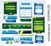 website elements big set ...