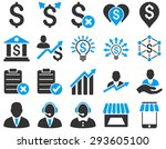 trade business and bank service ... | Shutterstock . vector #293605100