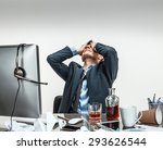 oh my good  stressed... | Shutterstock . vector #293626544