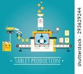 modern vector illustration of... | Shutterstock .eps vector #293629244