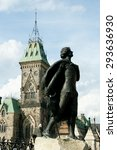 Small photo of Statue of Sir Galahad in Honor of Harper - Ottawa - Canada