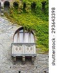 Small photo of Tagliolo Monferrato (Alessandria, Piedmont, Italy): the historic castle, a window