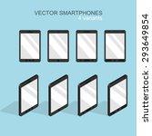 vector modern flat smartphone...