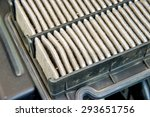 dirty air filter for car ... | Shutterstock . vector #293651756
