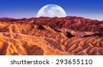 death valley scenic night.... | Shutterstock . vector #293655110