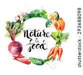 Eco Food Menu Background....