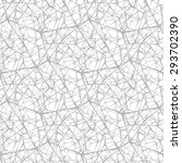 modern stylish pattern of mesh. ... | Shutterstock .eps vector #293702390