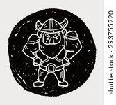 viking doodle | Shutterstock . vector #293755220