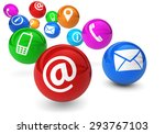 email  web and internet concept ... | Shutterstock . vector #293767103