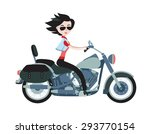 Vector Illustration Of Pretty...