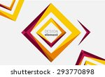 abstract shape | Shutterstock .eps vector #293770898