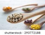 ingredient   bean seed | Shutterstock . vector #293772188