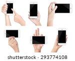 Hand Hold White Modern Smart...