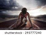 sport. runner | Shutterstock . vector #293777240