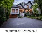 external view of luxury modern... | Shutterstock . vector #293780429