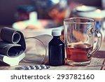 pension pressure medicine... | Shutterstock . vector #293782160