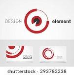 target logo design template...   Shutterstock .eps vector #293782238