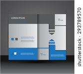 modern creative brochure  ... | Shutterstock .eps vector #293789570