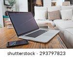 still life home interior of... | Shutterstock . vector #293797823