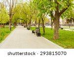 Park Bench Spring Urban...