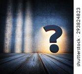 question concept. all textures... | Shutterstock . vector #293824823