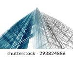 architecture 3d rendering | Shutterstock . vector #293824886