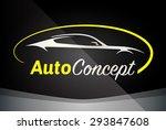 auto company logo vector design ... | Shutterstock .eps vector #293847608