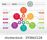 web template of a pyramidal...   Shutterstock .eps vector #293862128