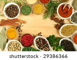 various spices selection. food... | Shutterstock . vector #29386366