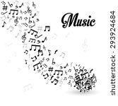 music digital design  vector... | Shutterstock .eps vector #293924684