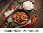 Spicy Chicken Curry With Rice...
