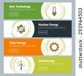 flat design concept. set of... | Shutterstock .eps vector #293964503