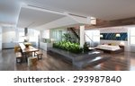 modern living room | Shutterstock . vector #293987840