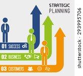 strategic planning design ... | Shutterstock .eps vector #293995706