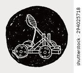 trebuchet doodle   Shutterstock . vector #294025718