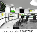a network operations center or... | Shutterstock . vector #294087938