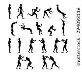 sport sign people | Shutterstock .eps vector #294093116